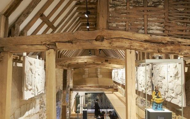 Winchester College Treasury - Installation of Parthenon Frieze Casts