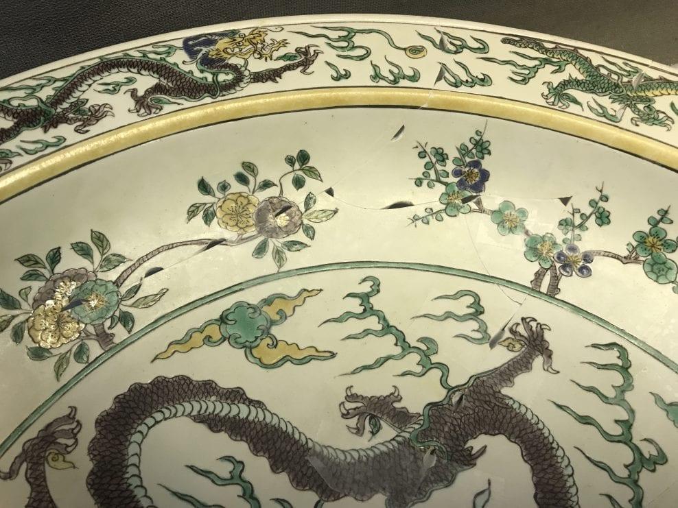 FV Kangxi Dragon Dish