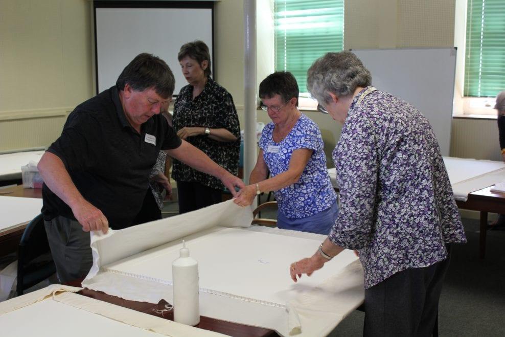 Paritcipants at a workshop