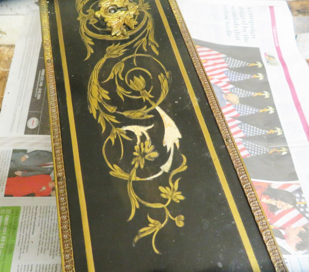Conservation and Restoration of an ebony and ormolu cabinet