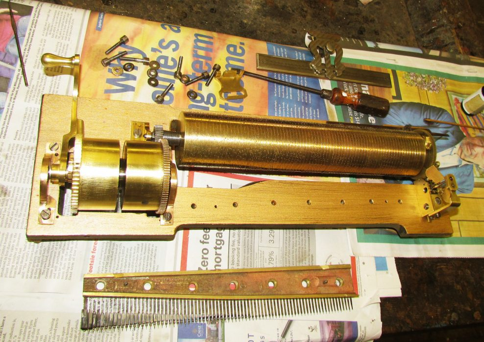Unusual Double Mainspring Musical Box