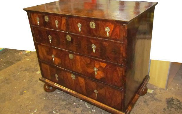 Kingwood Parquetry Chest of Drawers